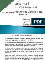 Micro 6. FUNCIONAMIENTO DEL MERCADO DEL TRABAJO ingcind 2019
