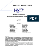 Histiocyte Society LCH Treatment Guidelines