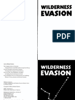 Wilderness Evasion a Guide to Hiding Out and Eluding Pursuit in Remote Areas