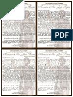 PARÓQUIA - Convite Festa de Padroeiro - Tríduo dos Santos Reis 2020 (Carta para as Famílias)
