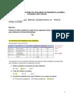 Práctica cálculo del indice académico
