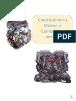 Construction du moteur à combustion interne