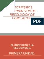 DIAPOSITIVAS MECANISMOS ALTERNATIVOS DE RESOLUCION DE CONFLICTOS.ppt