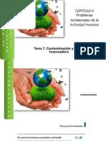 Tema 7 -Problemas Ambientales