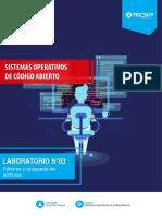 Laboratorio 03 - Editores y Búsqueda de Archivos