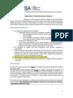 IX CIFSA 2020 BASES PARA ENVÍO Y PRESENTACIÓN DE TRABAJOS