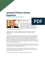 Gabinete de Ministros 2020 (Flores-Aráoz)