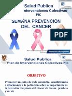 PRESENTACION SEMANA DEL CANCER