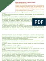 CUESTIONARIO DE  RAMIRO VEGA  PERSONAL SOCIAL  10 DE JULIO DEL 2021