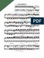 Preludio n°6 875 Bach