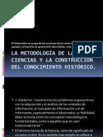 La metodología de las ciencias y la construcción