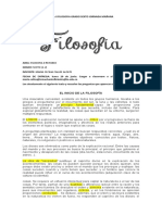 GUIA II FILOSOFIA GRADO SEXTO JORNADA MAÑANA..........