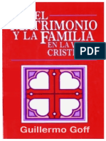 El Matrimonio y La Familia En La Vida Cristiana - Guillermo Goff.pdf