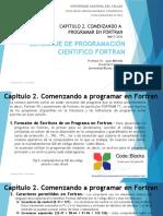 CAPITULO 2. COMENZANDO A PROGRAMAR EN FORTRAN
