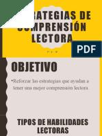 10 - ESTRATEGIAS DE COMPRENSIÓN LECTORA