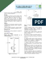 10. Carga y descarga de un condensador eléctrico