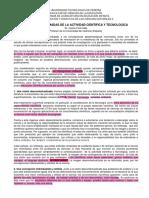 VISIONES DEFORMADAS DE LA ACTIVIDAD CIENTIFICA