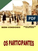 DOS PARTICIPANTES aulas 9