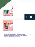PRUEBA DE COMPRENSIÓN DE TEXTOS - LECTURAS DESARROLLADA -EJERCICIOS RESUELTOS DE HABILIDAD-APTITUD Y RAZONAMIENTO VERBAL PDF.pdf