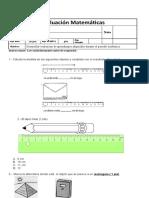 Evaluación de contenidos matematica noviembre