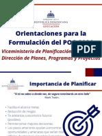 3. Presetación Orientaciones Metodológicas para la Formulación 2021