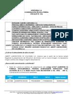 CIRCULAR TE-026 INFORMATIVA POR CAMBIO DE PRESENTACION ALIMENTUM IQ FORMULA HIPOALERGENIC
