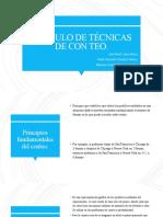 CALCULO DE TÉCNICAS DE CON TEO.pptx