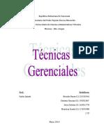 225567331-Tecnicas-Gerenciales