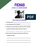 FICHAS  DE  TRABAJO  DEL  CUENTO  EL  PATITO  FEO