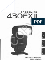 Canon Speedlite 430ex Flash Manual Pdf