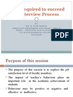 Factors Affecting Teachers Behaviour – Now & Then