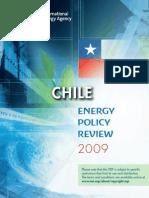 Chile estudio energia OCDE