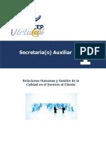 Modulo  1 Relaciones Humanas y Gestion de la Calidad en Servicio al Cliente