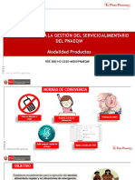 PPT Protocolo GSA PRODUCTOS