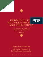 hansgeorg-gadamer-hermeneutics-between-history-and-philosophythe-selected-writings-of-hansgeorg-gadamer-volume-i
