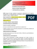 CIENCIAS SOCIALES, CÁTEDRA Y ARTÍSTICA