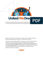 United We Dream - Join Our Local Advocacy During COVID-19 Webinar!