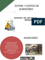 GESTION Y COSTOS DE ALMACENAJE