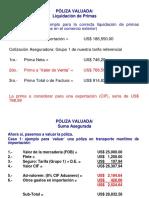 CEUPS CASOS DETERMINACION DE SEGURO Y FLETES.10.12