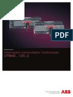 Interruptor-conmutador motorizado OTM140_125C_1TXA303443B0701-001111