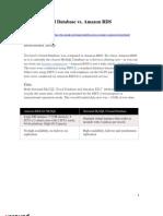 Cloud Database Benchmark