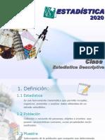 Estadistica descriptica PTU