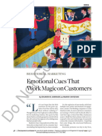 Emotional Cues That Work Magic on Customers