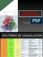 CLASE 4 LOS FACTORES DE COAGULACION Y SUS FUNCIONES 2019 II