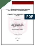 LEY 27360 -ARTÍCULO DE OPINIÓN - GRUPO DE ARENAS.pdf