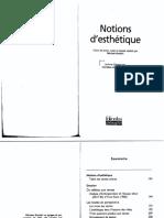 Notions d'esthétique .pdf