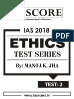 GS Score Ethics Test Series 2018_Test -2