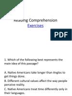 2Reading Comprehension test