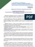 Comunicat de presa AIPPIMM - Programul pentru stimularea înfiinţării şi dezvoltării microîntreprinderilor