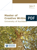 2017-Masters in Creative Writing
